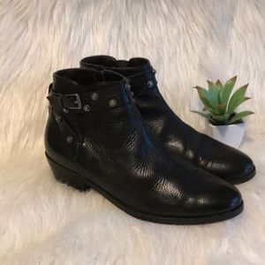 Halogen Leather Boots